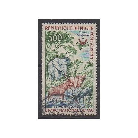 Niger - 1960 - No PA18 - Parcs et jardins - Animaux - Oblitéré