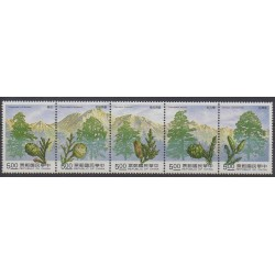 Formosa (Taiwan) - 1992 - Nb 1979/1983 - Trees