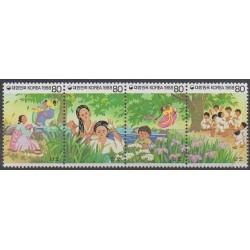 Corée du Sud - 1988 - No 1409/1412 - Folklore