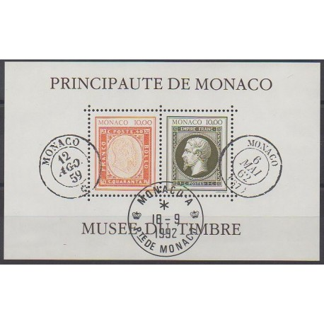 Monaco - Blocs et feuillets - 1992 - No BF58 - Oblitéré