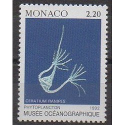 Monaco - Varieties - 1992 - Nb 1850a - Sea life