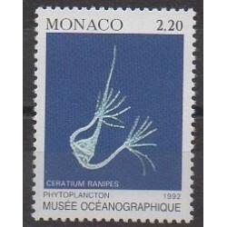 Monaco - Variétés - 1992 - No 1850a - Vie marine