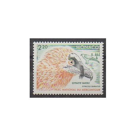Monaco - 1992 - No 1849 - Oiseaux