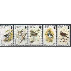 Jersey - 1992- No 557/561 - Oiseaux