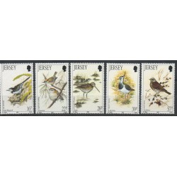 Jersey - 1992- Nb 557/561 - Birds