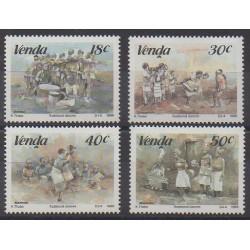 Afrique du Sud - Venda - 1989 - No 187/190 - Folklore