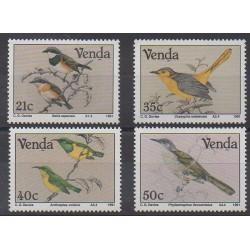 South Africa - Venda - 1991 - Nb 217/220 - Birds