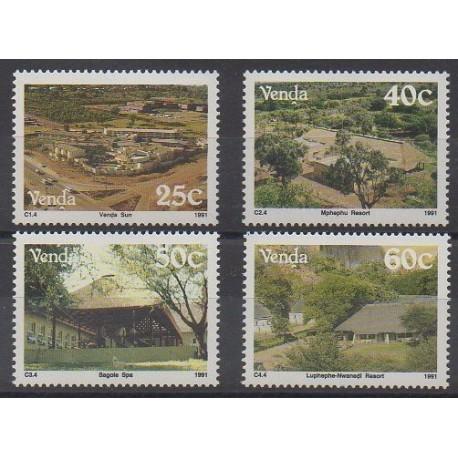 Afrique du Sud - Venda - 1991 - No 225/228 - Tourisme