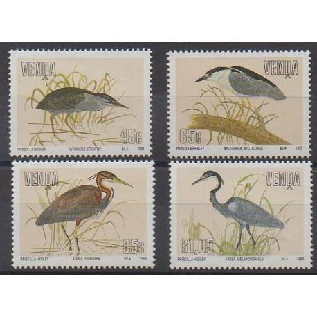 Afrique du Sud - Venda - 1993 - No 253/256 - Oiseaux