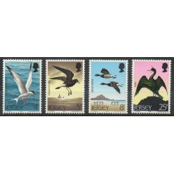 Jersey - 1975- Nb 117/120 - Birds