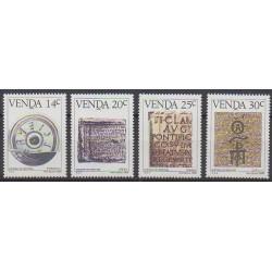 Afrique du Sud - Venda - 1986 - No 138/141 - Littérature