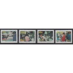 Afrique du Sud - Venda - 1993 - No 257/260 - Artisanat ou métiers