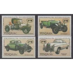 Afrique du Sud - Venda - 1986 - No 146/149 - Voitures