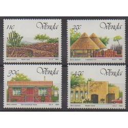 South Africa - Venda - 1984 - Nb 99/102 - Architecture