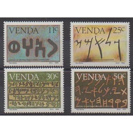 Afrique du Sud - Venda - 1985 - No 107/110 - Littérature