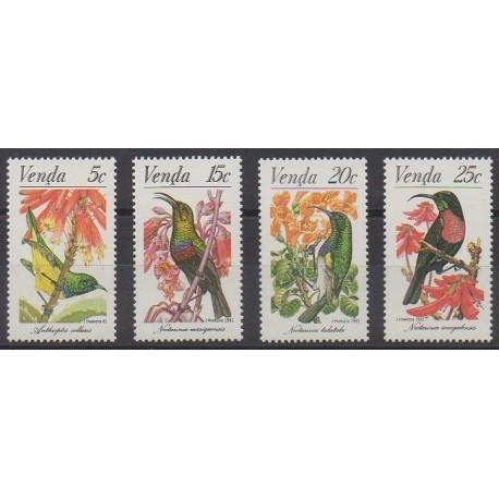 Afrique du Sud - Venda - 1981 - No 38/41 - Oiseaux