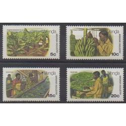 Afrique du Sud - Venda - 1980 - No 30/33 - Artisanat ou métiers - Fruits ou légumes