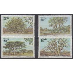 Afrique du Sud - Venda - 1983 - No 78/81 - Arbres