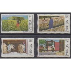Afrique du Sud - Venda - 1982 - No 54/57 - Artisanat ou métiers