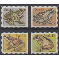 South Africa - Venda - 1982 - Nb 66/69 - Animals