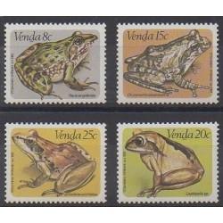 Afrique du Sud - Venda - 1982 - No 66/69 - Animaux
