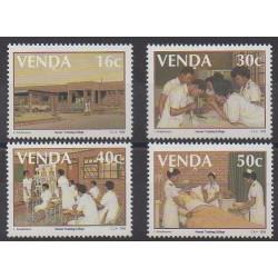 Afrique du Sud - Venda - 1988 - No 175/178 - Santé ou Croix-Rouge