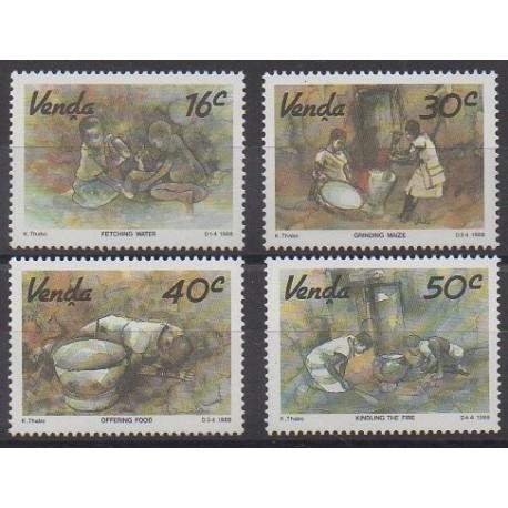 Afrique du Sud - Venda - 1988 - No 179/182