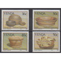 South Africa - Venda - 1989 - Nb 183/186 - Craft
