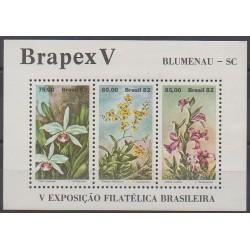 Brazil - 1982 - Nb BF48 - Flowers