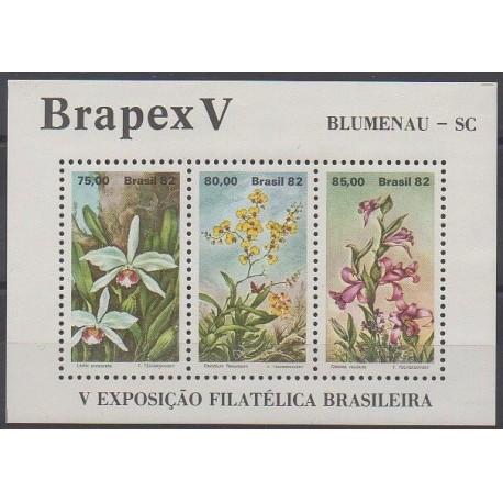 Brésil - 1982 - No BF48 - Fleurs
