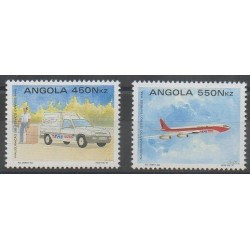 Angola - 1992 - Nb 882/883 - Postal Service
