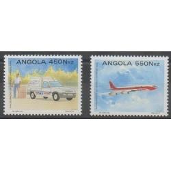 Angola - 1992 - No 882/883 - Service postal