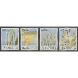 Angola - 1993 - Nb 895/898 - Flowers