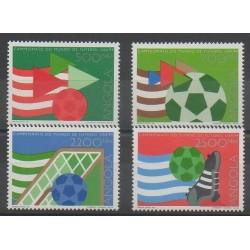 Angola - 1994 - Nb 923/926 - Soccer World Cup