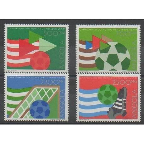 Angola - 1994 - No 923/926 - Coupe du monde de football