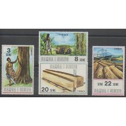 Samoa - 1971 - Nb 276/279 - Craft