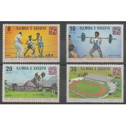 Samoa - 1974 - No 332/335 - Sports divers