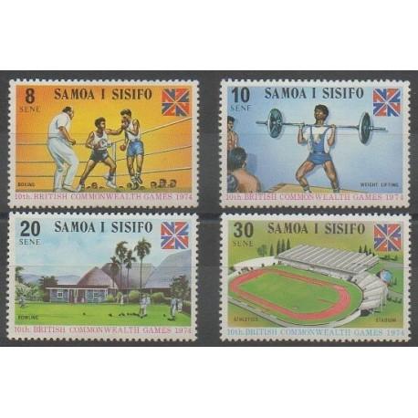 Samoa - 1974 - No 332/335 - Sports divers