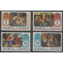 Samoa - 1974 - Nb 345/348 - Christmas