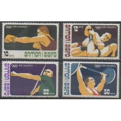 Samoa - 1976 - No 376/379 - Jeux Olympiques d'été
