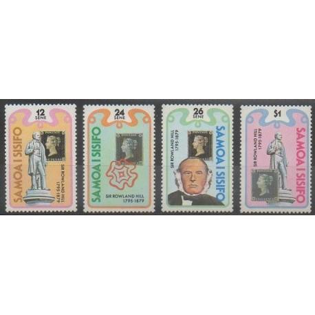 Samoa - 1979 - No 452/455 - Philatélie