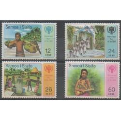 Samoa - 1979 - Nb 446/449 - Childhood