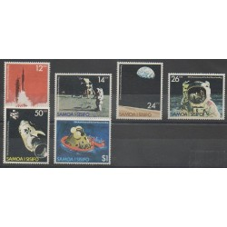 Samoa - 1979 - No 440/445 - Espace
