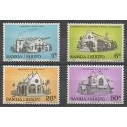Samoa - 1979 - No 456/459 - Églises
