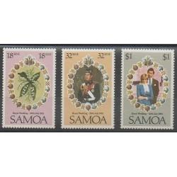 Samoa - 1981 - Nb 495/497 - Royalty
