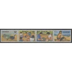 Samoa - 1981 - Nb 498/501