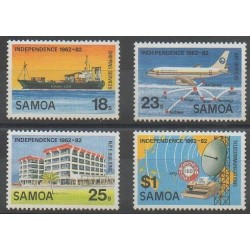 Samoa - 1982 - Nb 513/516 - Various Historics Themes