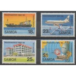 Samoa - 1982 - No 513/516 - Histoire
