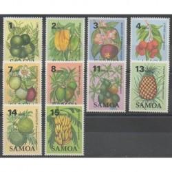 Samoa - 1983 - Nb 537/546 - Fruits or vegetables