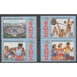 Samoa - 1984 - No 565/568 - Jeux Olympiques d'été
